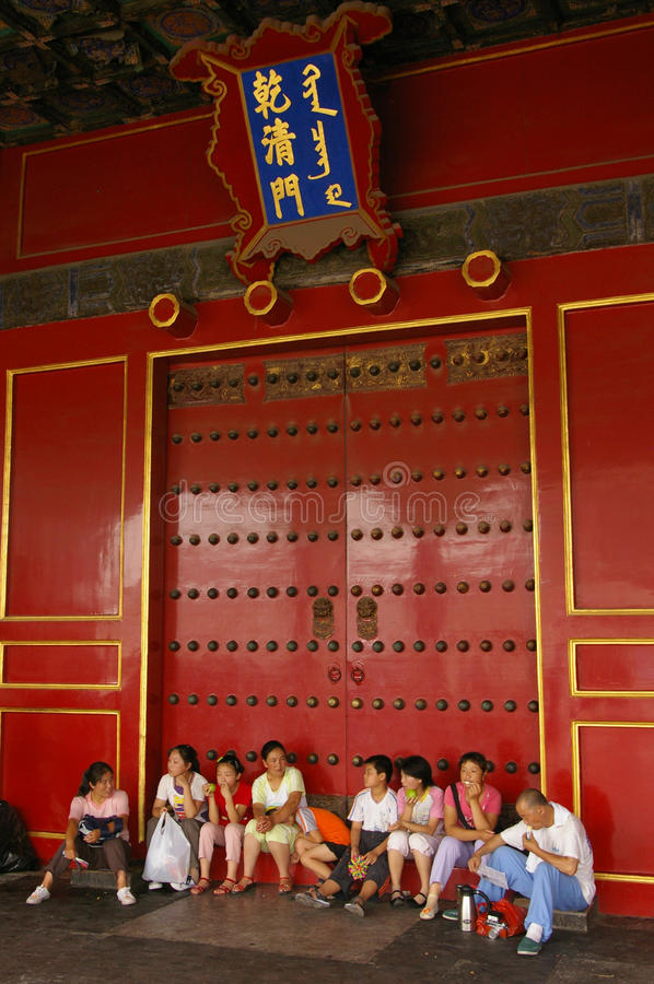 Download People At Temple Of Heaven In Beijing. Editorial Image - Image: 20733525