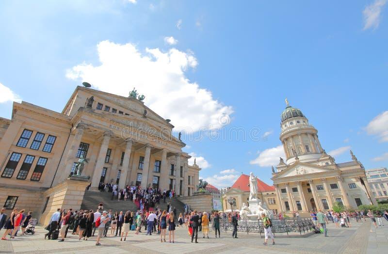 Gendarmenmarkt square plaza Berlin Germany royalty free stock photos