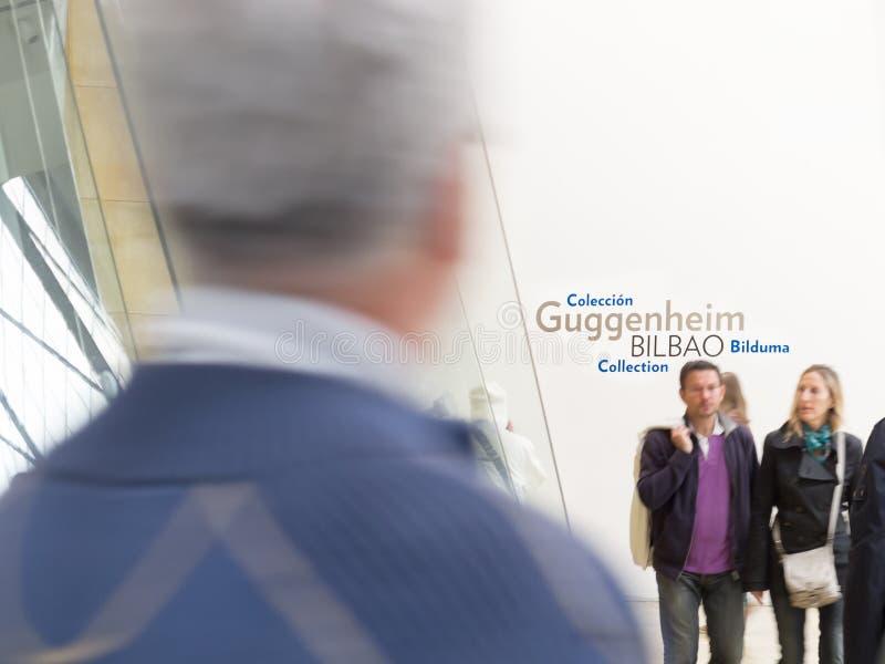 Download People Visit Guggenheim Museum Bilbao In Europe. Editorial Photo - Image: 26442561