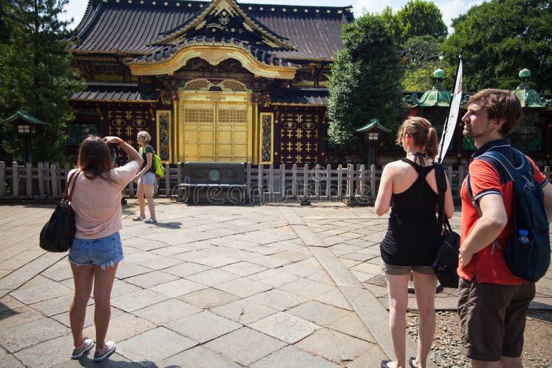 People Visit Tosho Gu Shrine On Aug 15 2015 In Nikko