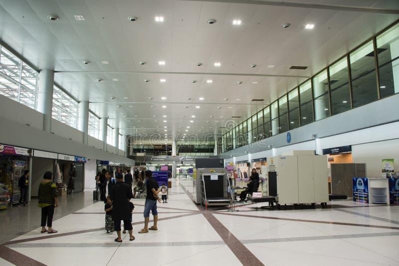 Inside of Ubon Ratchathani Airport at Thailand royalty free stock photos