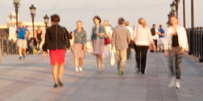 People walk stock photography