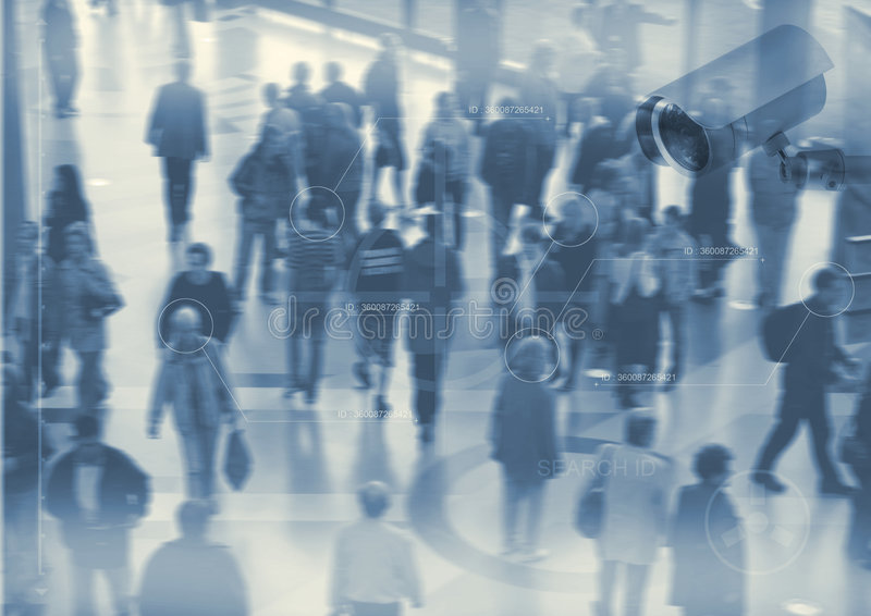 Download People walking stock illustration. Image of students, lots - 4277952