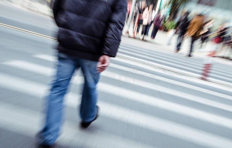 Download People Walking On Big City Street Stock Image - Image: 36501169