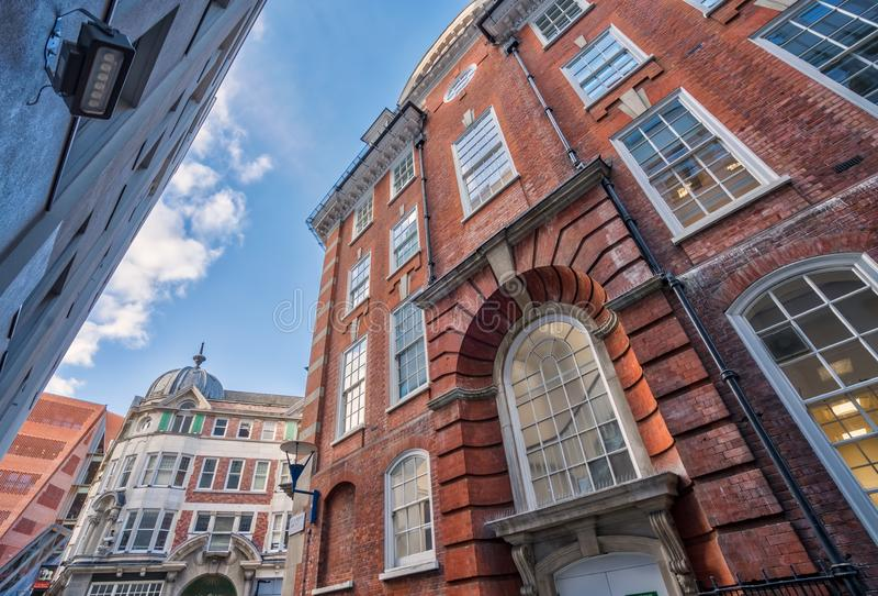 Campus buildings at London School of Economics royalty free stock photos
