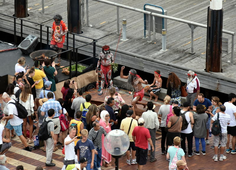 Download People Watching Indigenous Aboriginal People`s Performance Editorial Image - Image of crowd, nation: 84914815