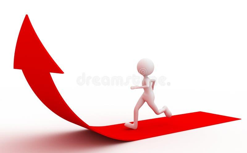 Download People who run sprint stock image. Image of metaphor - 14526099