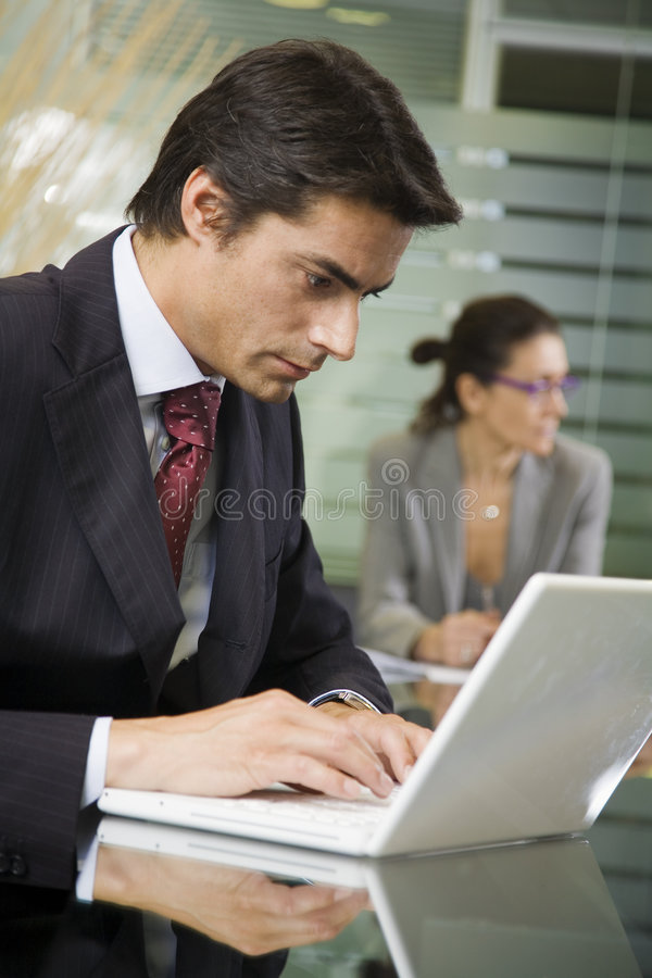 Download People at work: stock image. Image of meeting, successfulness - 2689763