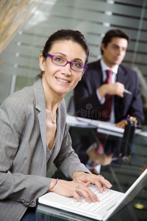 Download People at work stock image. Image of businessman, businesswoman - 2709059