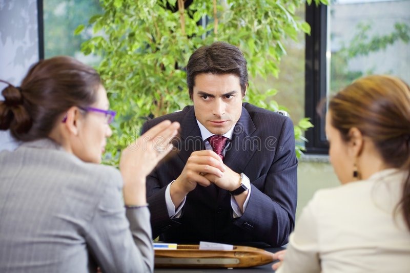 People at work stock photography