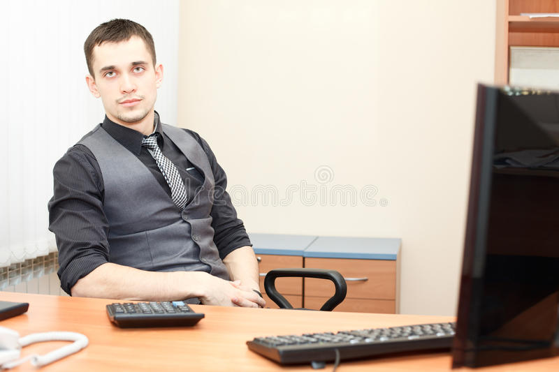 Download People at working place stock image. Image of looking - 24385257