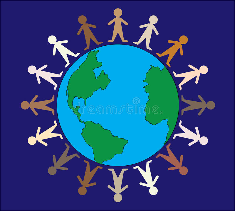 Download People of the World stock vector. Image of people, holding - 11529275