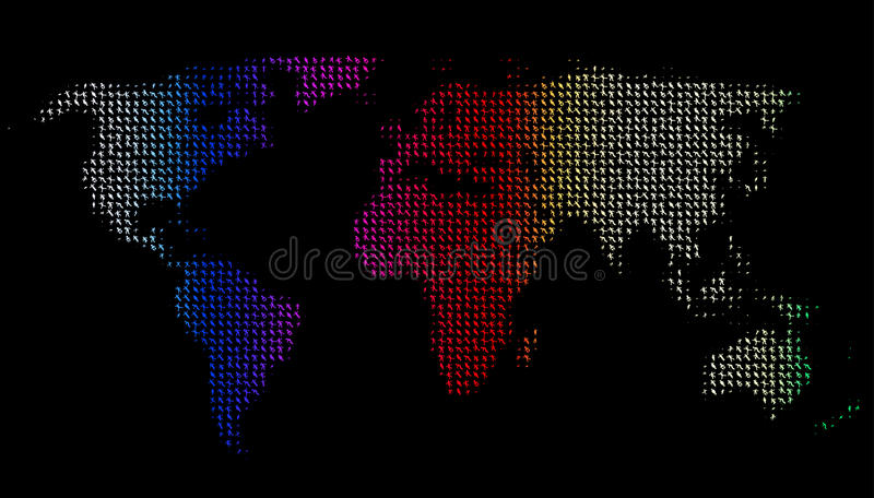 People and world royalty free stock images
