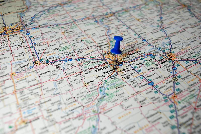 Peoria, Illinois zdjęcie royalty free