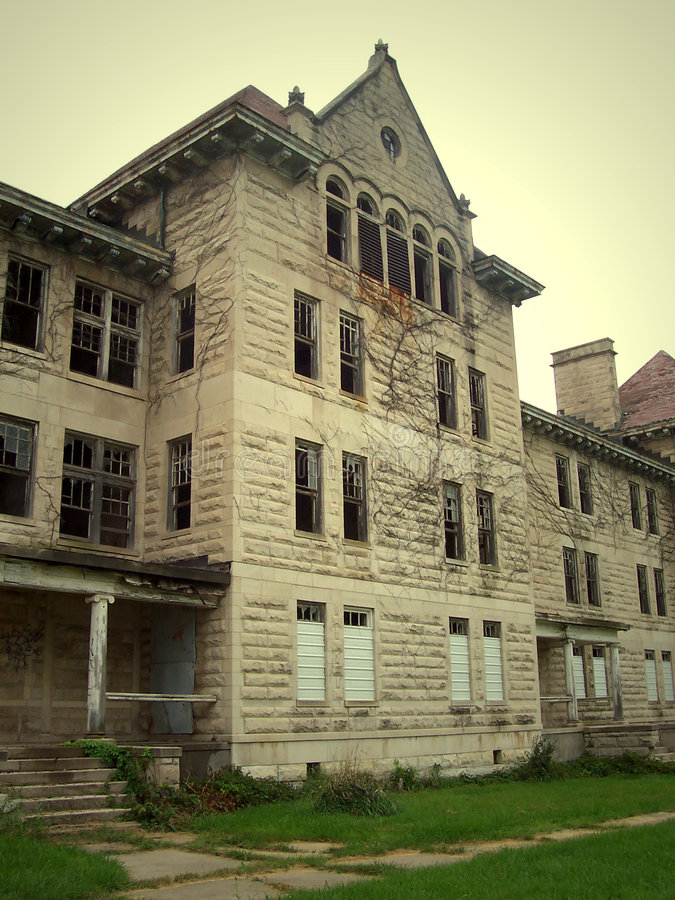 Download Peoria State Hospital stock photo. Image of bartonville - 1225730