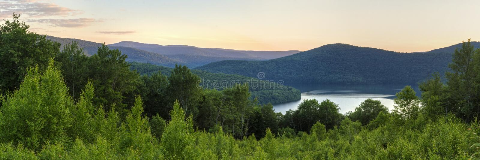 Download Pepacton Reservoir Overlook Panorama Stock Image - Image: 42179461