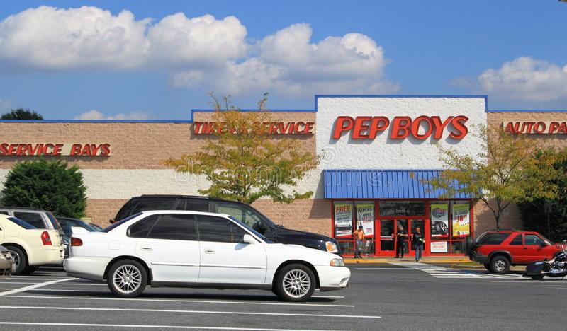Download Pep Boys Auto Services editorial stock photo. Image of retailer - 26730463
