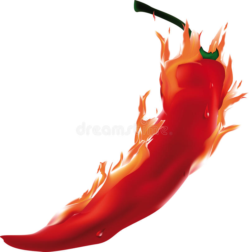 Pepe Burning royalty illustrazione gratis