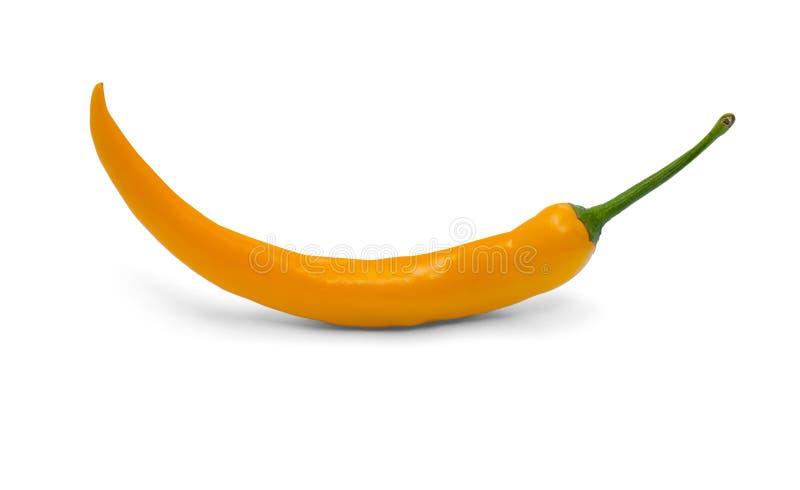 Pepe di peperoncini rossi giallo fotografia stock libera da diritti