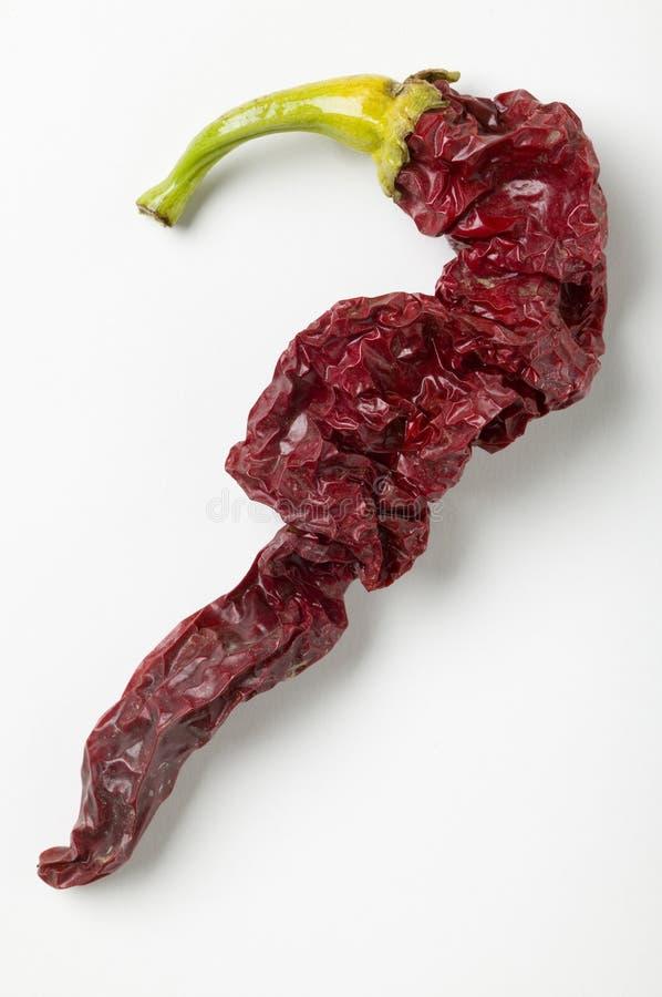 Pepe di peperoncino rosso della Caienna fotografie stock libere da diritti