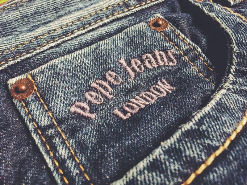 Pepe Jeans London royaltyfri bild