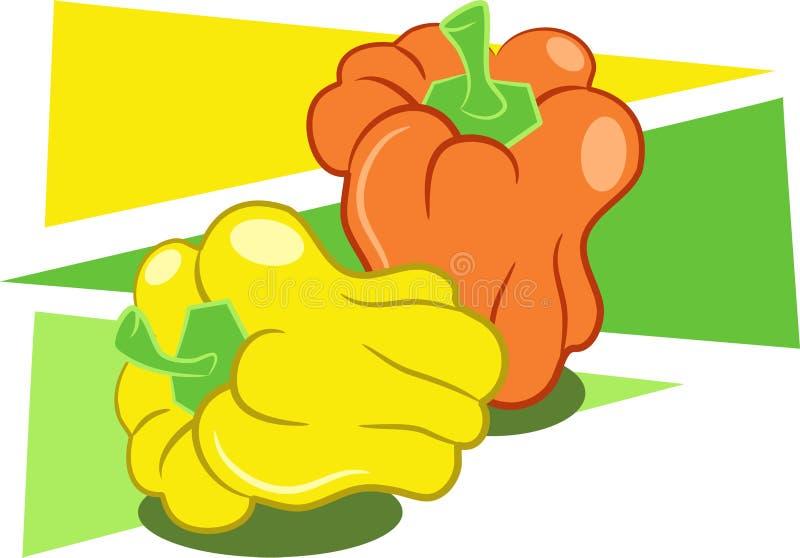 Peper stock illustratie