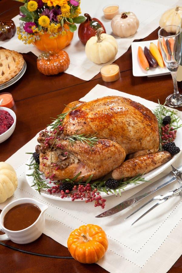 Peper Turkije voor Dankzegging stock foto's