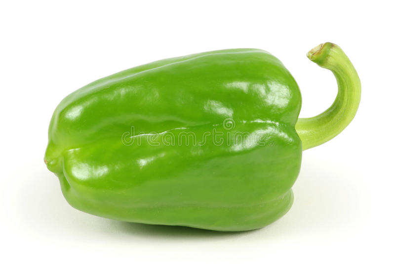 Peper verde fotografia stock