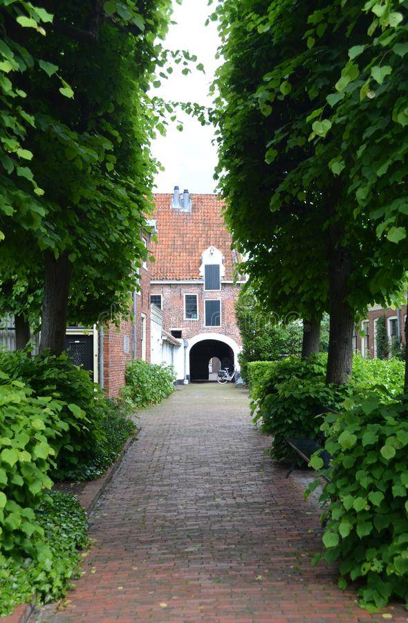 Pepergasthuis Groningen holandie fotografia stock