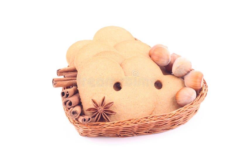 Peperkoek stock afbeelding