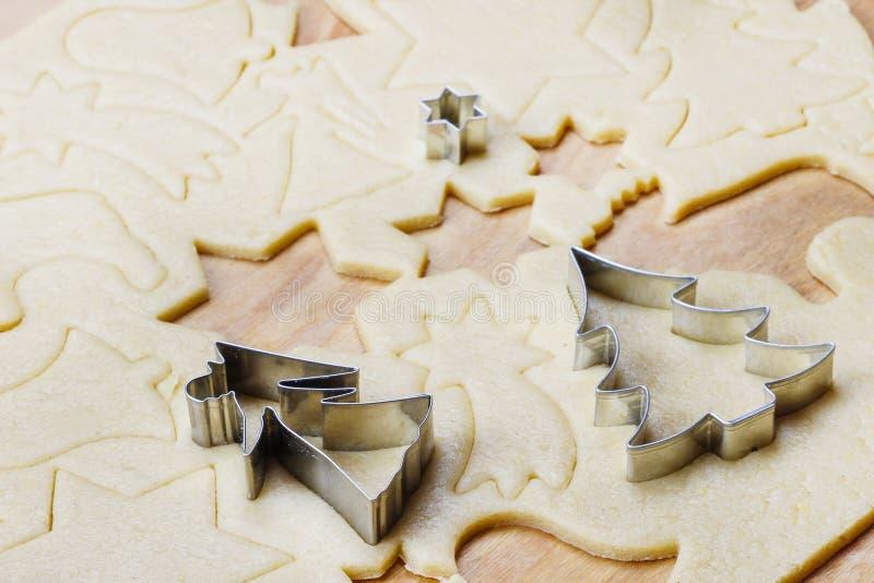 Peperkoekkoekjes, Kerstmisdelicatesse stock fotografie