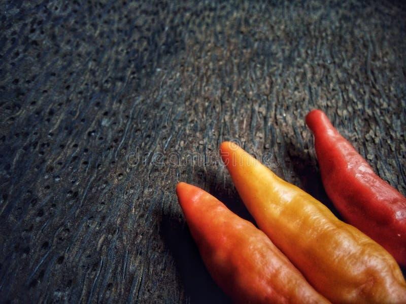Peperoncini di cayenna fotografie stock libere da diritti