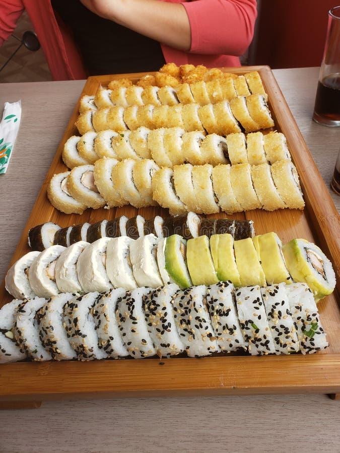 Peperoncino rosso del iquique dei sushi immagini stock libere da diritti
