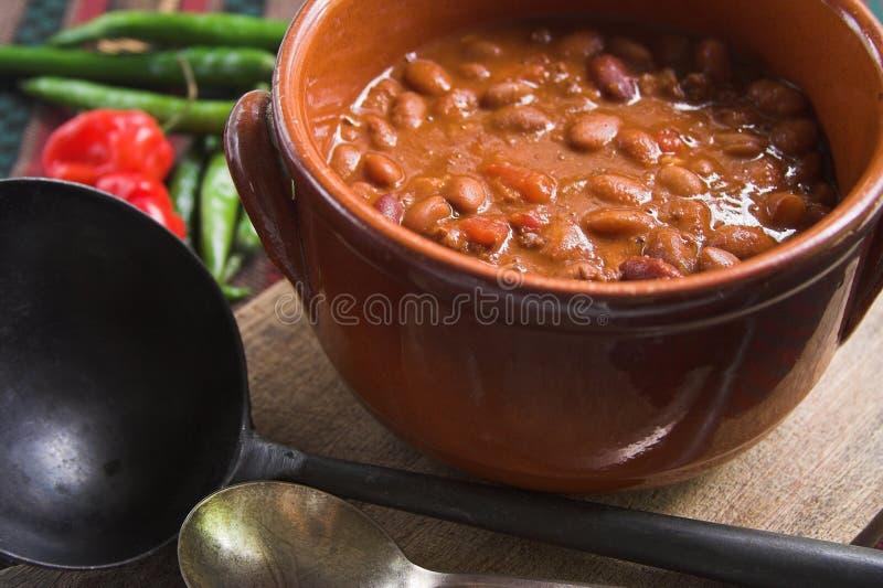 Peperoncino rosso messicano immagine stock