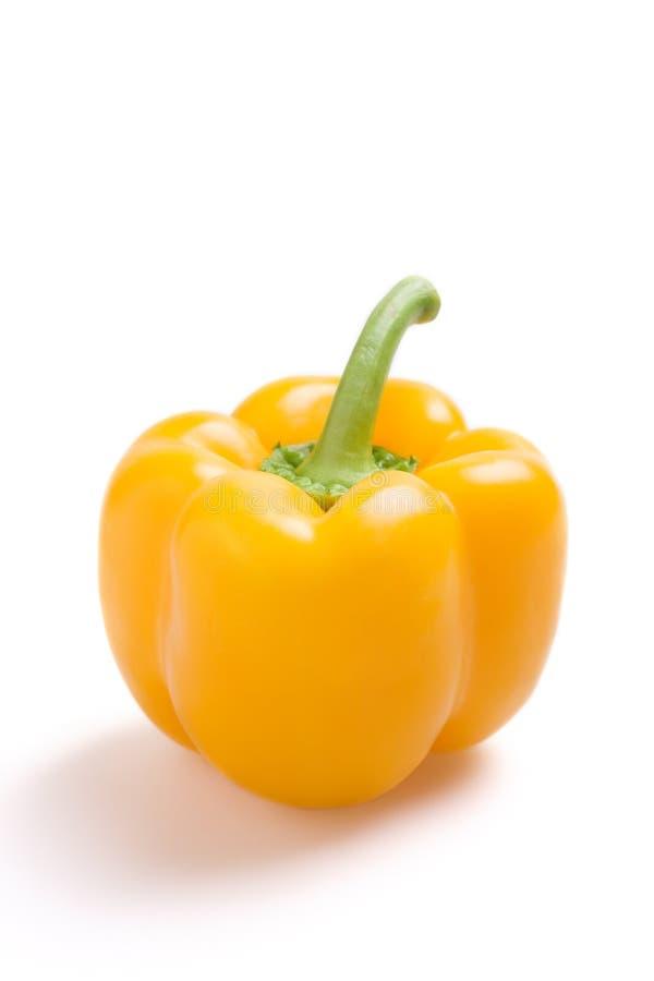Peperone dolce giallo fotografie stock libere da diritti