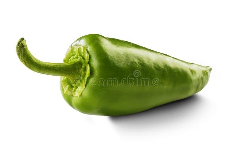 Peperone verde fotografie stock libere da diritti