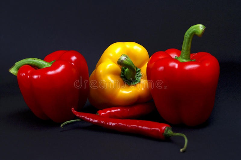 peperoni πάπρικας στοκ φωτογραφίες με δικαίωμα ελεύθερης χρήσης