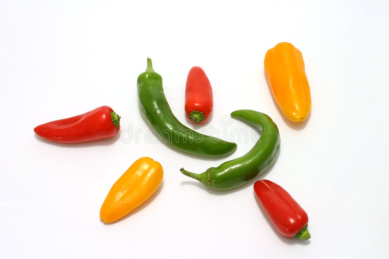 Download Peperoni caldi immagine stock. Immagine di flangia, pasto - 3894915