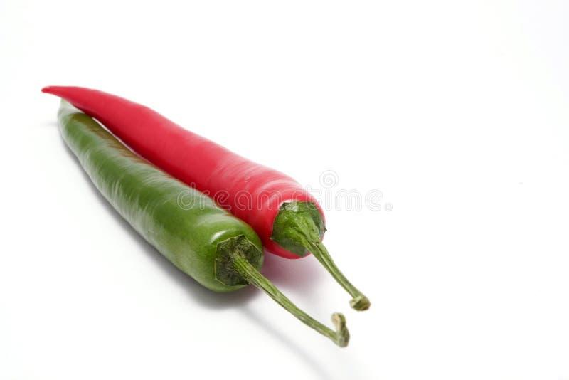 Peperoni caldi fotografia stock
