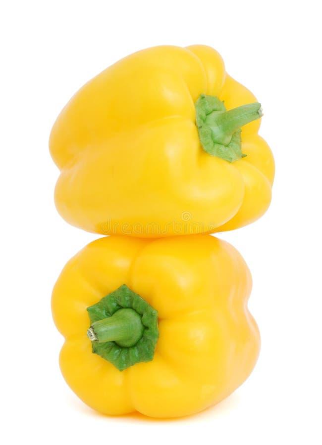 Peperoni gialli fotografia stock libera da diritti
