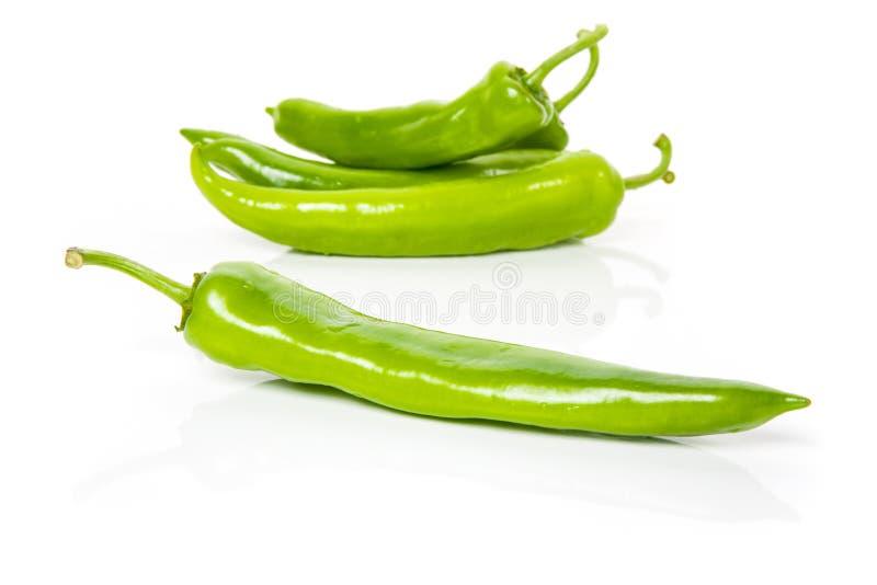 Peperoni verdi immagine stock libera da diritti