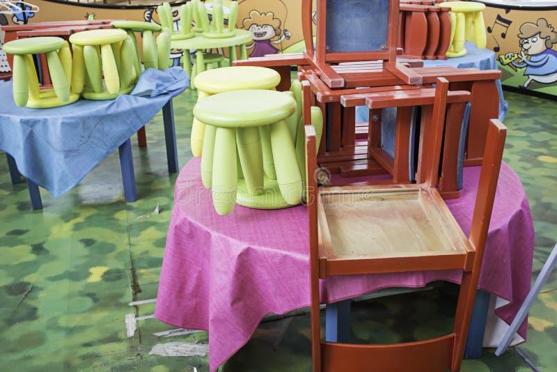 Pepinier krzesła obrazy stock