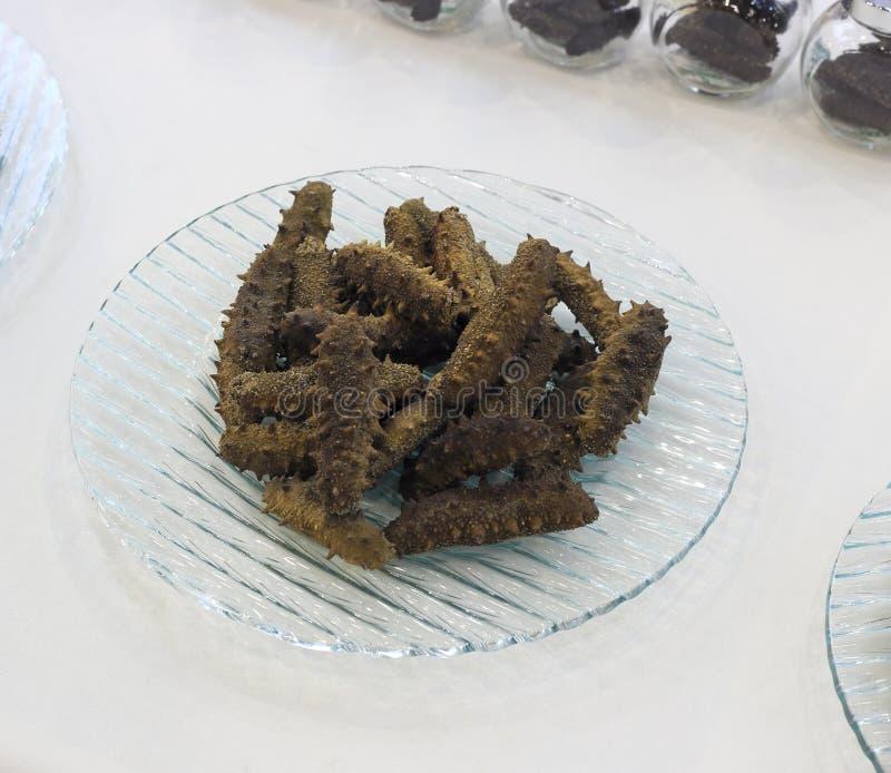 Pepino de mar secado foto de stock royalty free