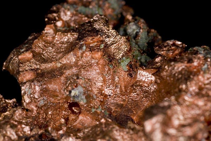 Pepita de cobre imagen de archivo libre de regalías