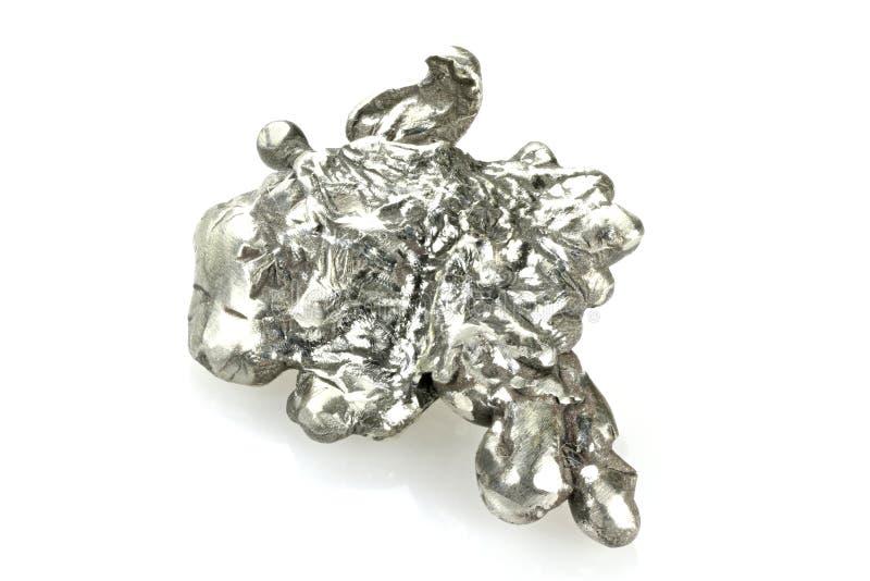 Pepita de prata imagem de stock