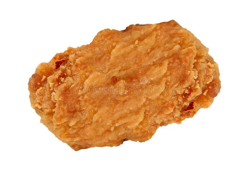 Pepitas de pollo frito aisladas imagenes de archivo