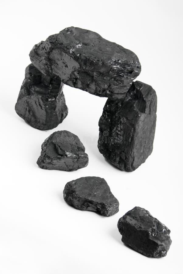 Pepitas do carbono fotografia de stock royalty free