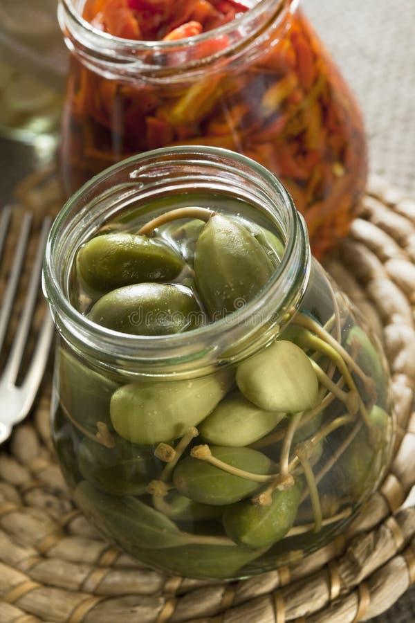 peppar för kapriscucuncifrukt royaltyfri fotografi