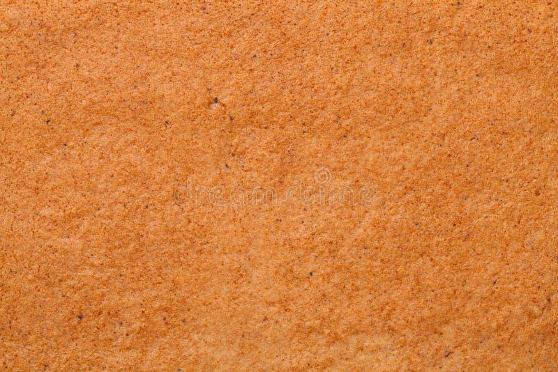 Pepparkakatextur för bakgrund royaltyfri bild