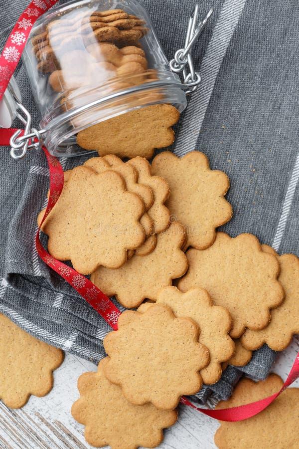 Pepparkakor (Suédois Ginger Cookies) images libres de droits
